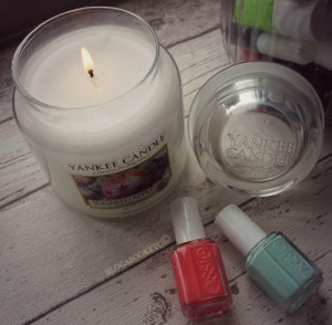 Essie, Nail Varnish, Nails, Mint Candy Apple, Beauty, Yankee Candle, Home, Candles, Sugared Apple