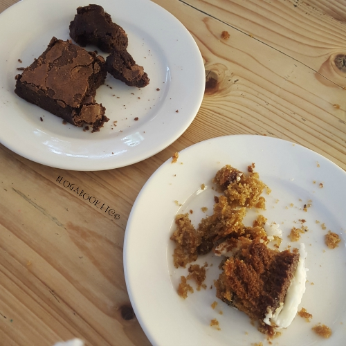 The Eden Project, Nature, Cornwall, Day Trip, England, Blog A Book Etc, Fay, Food, Cake, Carrot Cake, Brownie, Chocolate