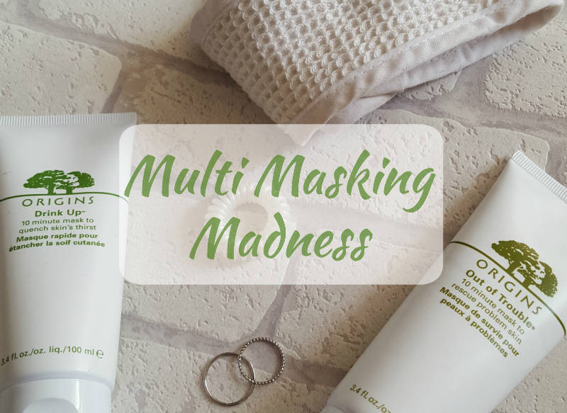 Origins Drink Up 10 Minute Mask, Origins Out of Trouble 10 Minute Mask, Skincare, Multi-masking, Beauty