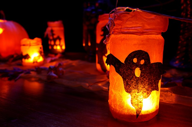 Halloween, Candles, Naked Flames, Child Safety
