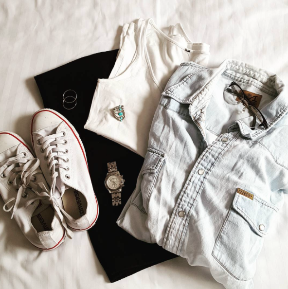 OOTD, Converse, Denim, Fashion, Blog A Book Etc, Fay